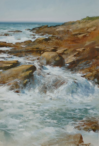 """Water"" - 24""x 16"" - Watercolor"