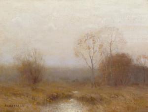 """""""Grey November"""" - 12""""x 16""""  - Oil"""
