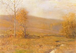 """""""Mellow Autumn"""" - 14""""x 20"""" - Oil"""