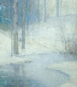 """""""Winter"""" - 26""""x 24"""" - Oil (1917)"""