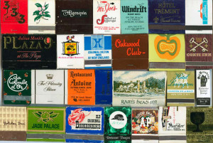 Collection of matchbooks