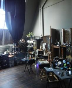 Leah Lopez's studio