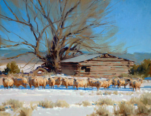 """""""Winter Afternoon"""" - 11""""x 14"""" - Oil"""