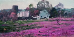 "Phil Stark - ""Wildflowers"" - 10""x 16"" - Oil"