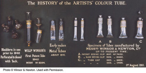 History of the metal paint tube