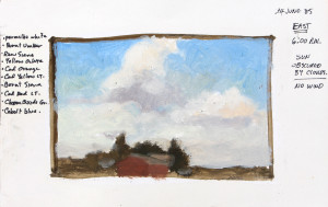 Discovering plein air painting