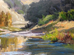 "Honorable Mention - Debob Jacobs - ""Evening Shadows"" - 9""x 12"""