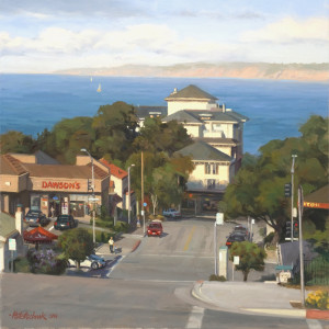 """Monterey Bay"" - 20""x 20"" - Oil"