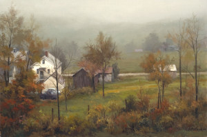 """""""New England Morning"""" - 16""""x 24"""" - Oil"""