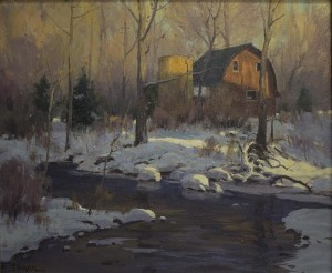 """""""Last Warmth of the Day"""" - 18""""x 24"""" - Oil"""