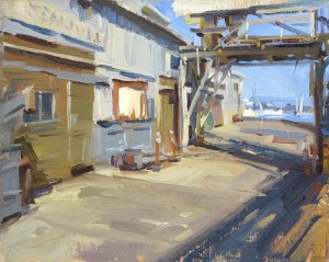 "David Dibble - ""Monterey Pier"" - 8""x 10""  (Silver Medal)"