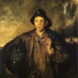 """""""The First Voyage"""" - 48""""x 60"""" - Oil  (1915)"""
