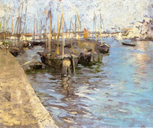 """Provincetown Harbor"" - 17""x 19.5"" - Oil"