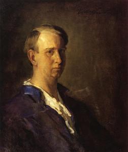 "Charles Webster Hawthorne - ""Self Portrait"" - 30""x 25"" - Oil"