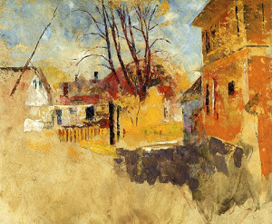 """""""Town View, Provincetown"""" - 25""""x 30"""" - Oil"""