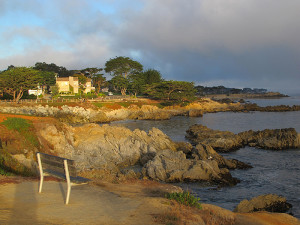 The beautiful Monterey coastline.