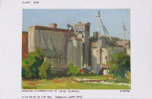 """Boyhood Dreams"" (Field Study) - 4.5"" x 6"" - Oil"