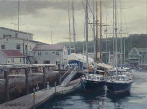 """Camden Harbor"" - 12"" x 16"" - Oil"