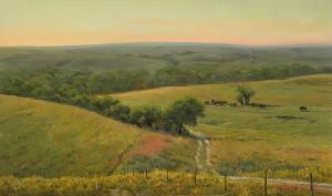 """""""The Endless Prairie"""" - 36"""" x 60"""" - Oil"""