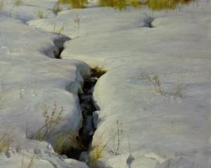 """Winter's Poetry"" - 18"" x 24"" - Oil"