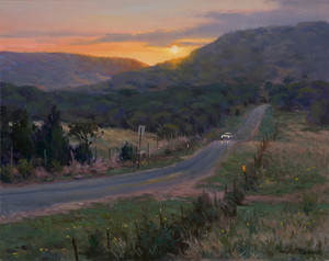 """""""Texas Hill Country"""" - 16"""" x 20"""" - Oil"""