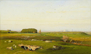 "George Inness - ""In the Roman Campagna"""