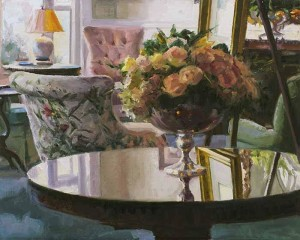 "Friedland - ""Quiet Reflection"" - 16"" x 20"" - Oil  (Finalist, Raymar Online Competition 2012)"