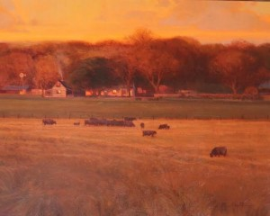 """""""Texas Hill Country"""" - 24"""" x 30"""" - Oil"""