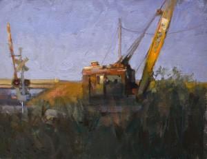 "John Lasater IV - ""Brilliant Crane"" - 14"" x 18"" - Oil  (Award of Excellence)"