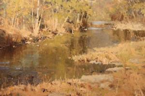 """""""Tennessee Creek"""" - 24""""x 36"""" - Oil"""