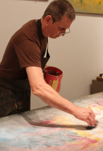 Paul Walden has worked at Southwest Gallery since 1969, and is also one of the gallery artists.