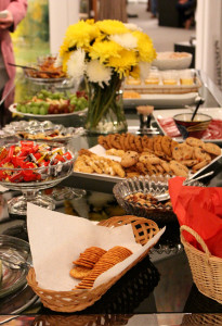 And there was plenty of food, desserts, and drinks.