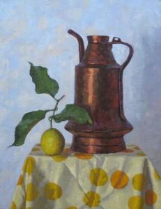 "Melissa Hefferlin - ""Windmill"" - 25.5"" x 19.5"" - Oil"