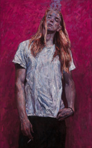 """Timur Akhriev - """"Youth"""" - 50"""" x 30"""" - Oil  (Award of Excellence, Oil Painters of America 2016 National)"""