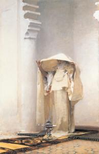 """John Singer Sargent (1856-1925) - """"Fumee d' Ambris Gris"""" - 54.75"""" x 37"""" - Oil  (1880)"""