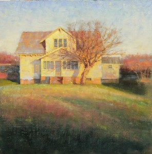 """""""Homefront"""" - 20"""" x 20"""" - Oil  (Featured on cover of Southwest Art magazine, June 2012)"""