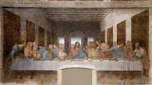 "Leonardo da Vinci (1452-1519) - ""The Last Supper"" - Fresco - (1498)"