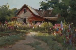Georgia Barn - 9.25 x 13.75- w