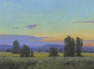 """Wallowa Valley Twilight"" - 12"" x 16"" - Oil"