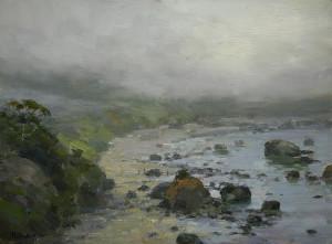 """Coastal Fog"" - 12"" x 16"" - Oil"