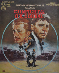 "RCA Video Disks - ""Gunfight at the OK Corral"""