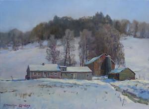 Painting by Stapleton Kearns