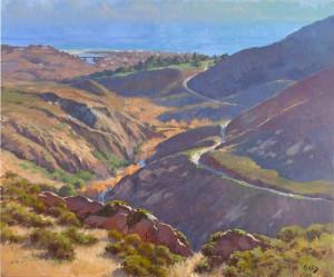 """Malibu Canyon"" - 30"" x 36"" - Oil"