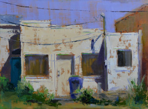 """""""Alley Blues"""" -"""