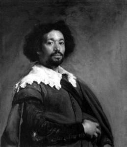"Diego Rodriquez de Silva Velasquez  -  ""Juan de Pareja""  -  32""x 27.52  -  Oil  -  1650"