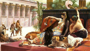 Alexandre Cabanel - Cleopatra Testing Poisons on Condemned Prisoners - Oil - 1887