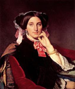 "Jean Auguste Dominique Ingres - Madame Henri Gouse - 28.74""x 24.41"" - Oil - 1845-52"