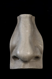 Example of a plaster cast