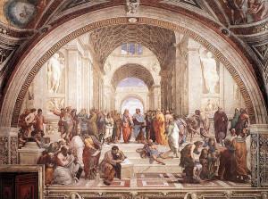 Raphael - The School of Athens - 1509 - Fresco