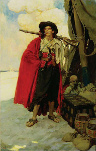 "Howard Pyle - ""The Pirate Was a Picturesque Fellow"" (1905)"